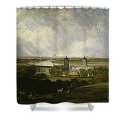 London From Greenwich Park Shower Curtain