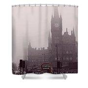London Kings Cross Shower Curtain