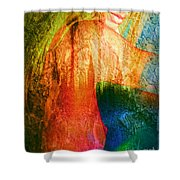 London Revisited Shower Curtain