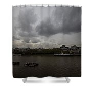 London River View Shower Curtain