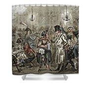 London: Slum, 1821 Shower Curtain