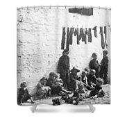 London Slum, C1890 Shower Curtain