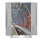 London St Pancras Shower Curtain