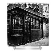 London: Tavern Shower Curtain