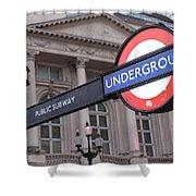 London Underground 1 Shower Curtain