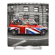 London's Calling Shower Curtain