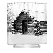 Lone Cabin Shower Curtain