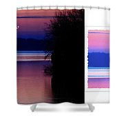 Lone Fisherman  Watersoft Smooth Shower Curtain