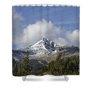 Lone Mountain Peak Shower Curtain