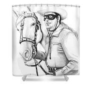 Lone Ranger Shower Curtain