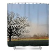 Lone Tree In Cades Cove Shower Curtain