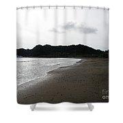 Lonely Beach In Costa Rica Shower Curtain