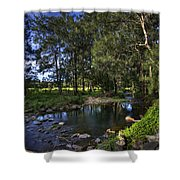 Lonely Creek Shower Curtain
