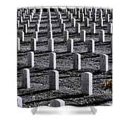 Lonely Flowers Shower Curtain