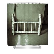 Lonely Headboard Shower Curtain