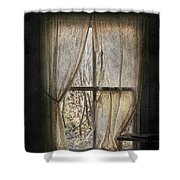 Lonely Me  Shower Curtain