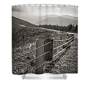 Lonely Mountain Road Shower Curtain
