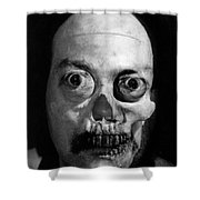 Lonely Zombie Shower Curtain