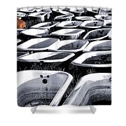 Lonesome Tub Shower Curtain