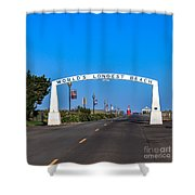Long Beach Shower Curtain