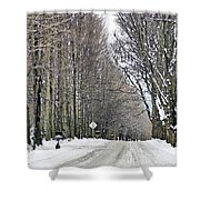 Long Country Road Shower Curtain