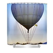 Long Distance Flyer Shower Curtain