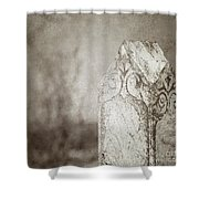 Long Gone Shower Curtain