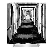 Long Hallway Shower Curtain