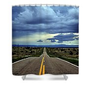 Long Highway Shower Curtain