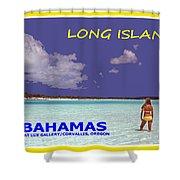 Long Island Bahamas IIi Shower Curtain
