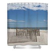 Long Island Beach Shower Curtain