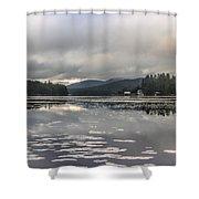 Long Lake Long View Shower Curtain