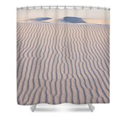 Long Lines Shower Curtain