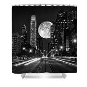 Long Nights Moon Shower Curtain