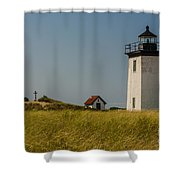 Long Point Lighthouse  Shower Curtain