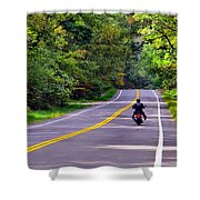 Long Ride Shower Curtain
