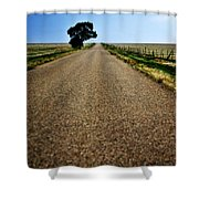 Long Road Shower Curtain