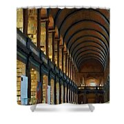 Long Room Shower Curtain