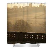 Long Shadows Shower Curtain