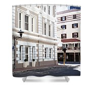 Long Street Shower Curtain