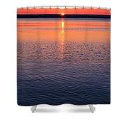Long Sunset Shower Curtain