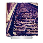 Long Tracks Shower Curtain