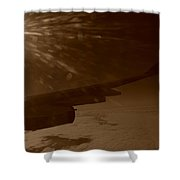 Long Travels Shower Curtain