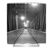 Long Walking Bridge Shower Curtain