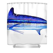 Longbill Spearfish Shower Curtain
