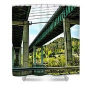 Longest Bridges In Vermont Shower Curtain