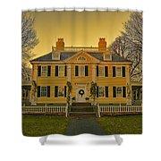 Longfellow House-cambridge Boston Shower Curtain