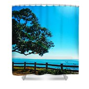 Longing For The Sea Shower Curtain