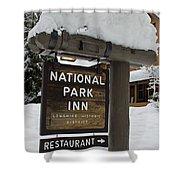 Longmire National Park Inn Shower Curtain