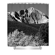 Longs Peak 14256 Ft Shower Curtain